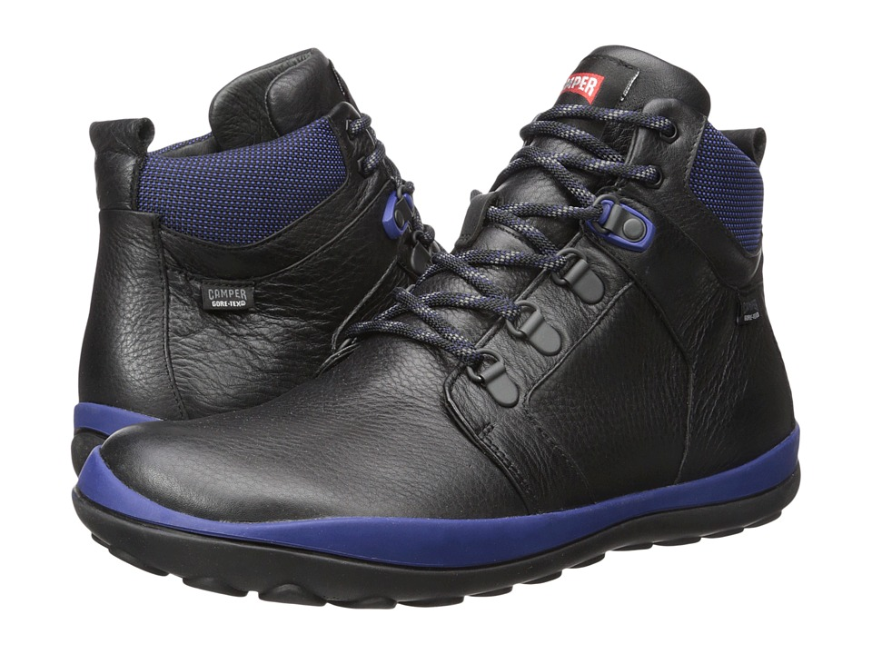 Camper - Peu Pista - K300124 (Black) Men's Lace-up Boots