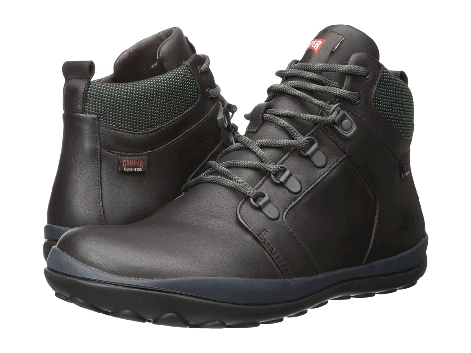 Camper - Peu Pista - K300124 (Dark Brown) Men's Lace-up Boots
