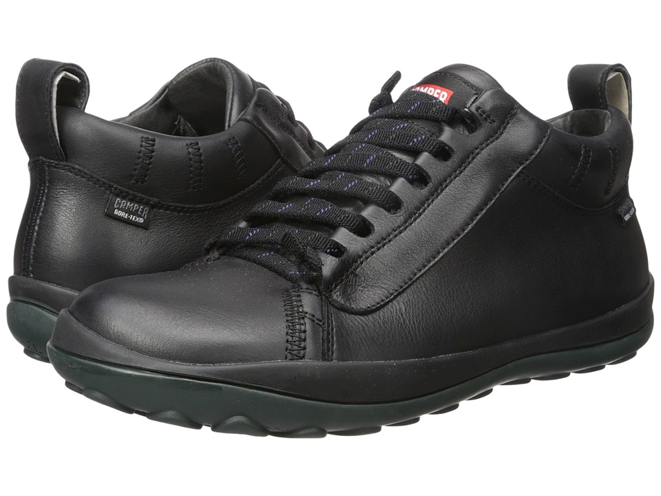 Camper - Peu Pista - K300123 (Black) Men's Lace up casual Shoes