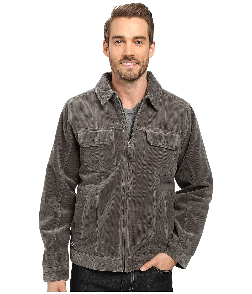 Quiksilver Waterman - Santa Cruz 2 Jacket (Gunmetal 1) Men's Coat