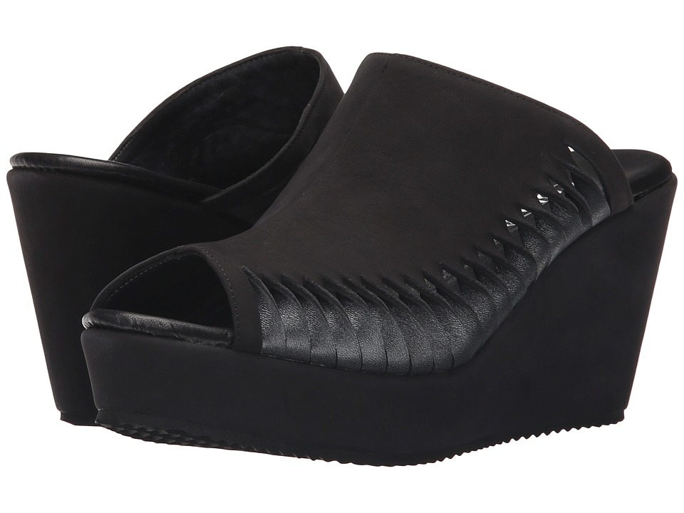 Cordani - Fergus (Black/Gunmetal) Women's Wedge Shoes