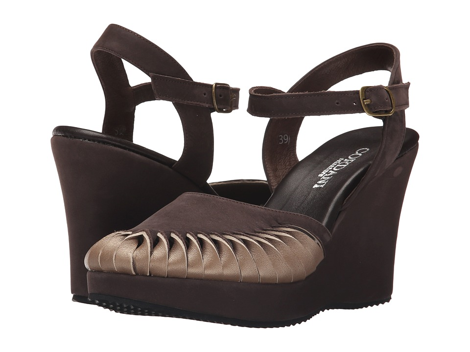 Cordani - Westbury (Brown/Taupe) Women's Wedge Shoes