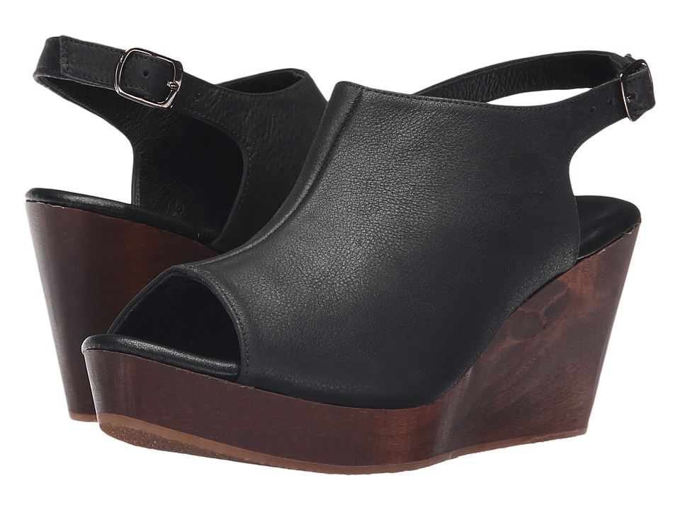 Cordani - Fellesley (Black/Wood) Women's Wedge Shoes