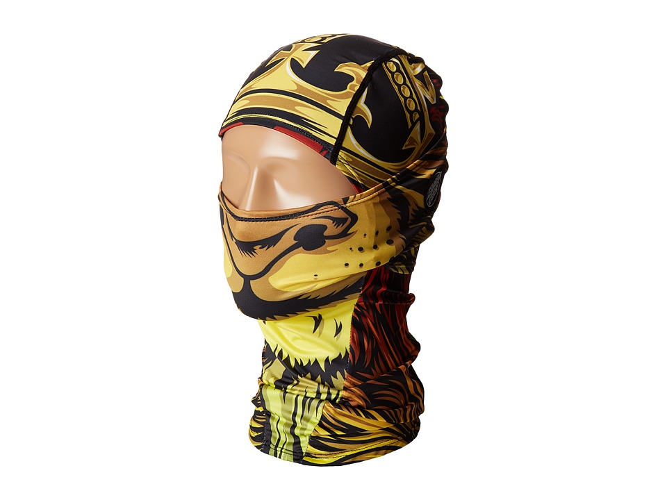 Celtek - Samurai Balaclava (Little Kid/Big Kid) (Sc Lion God) Scarves