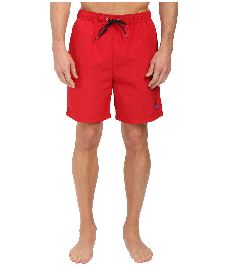 Nautica - 1983 J-Class Trunk (Racer Red) Men's Swimwear