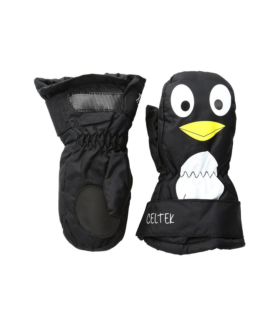 Celtek - Superstar Mitten (Little Kid/Big Kid) (Penguin) Over-Mits Gloves