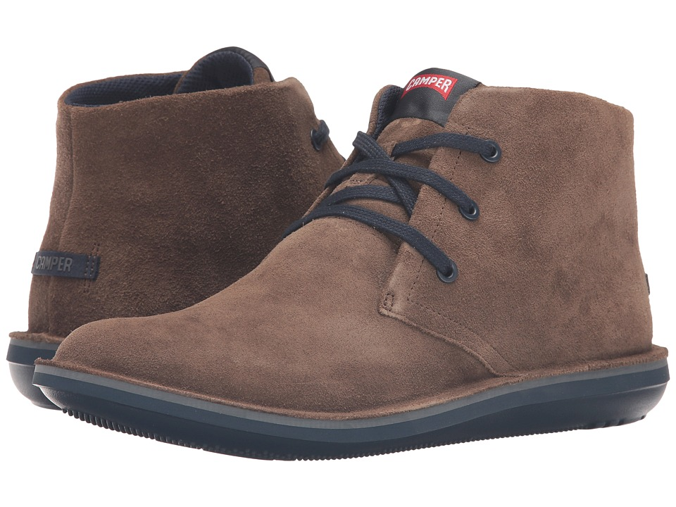 Camper - Beetle Hi-36530 (Medium Brown 1) Men's Lace-up Boots