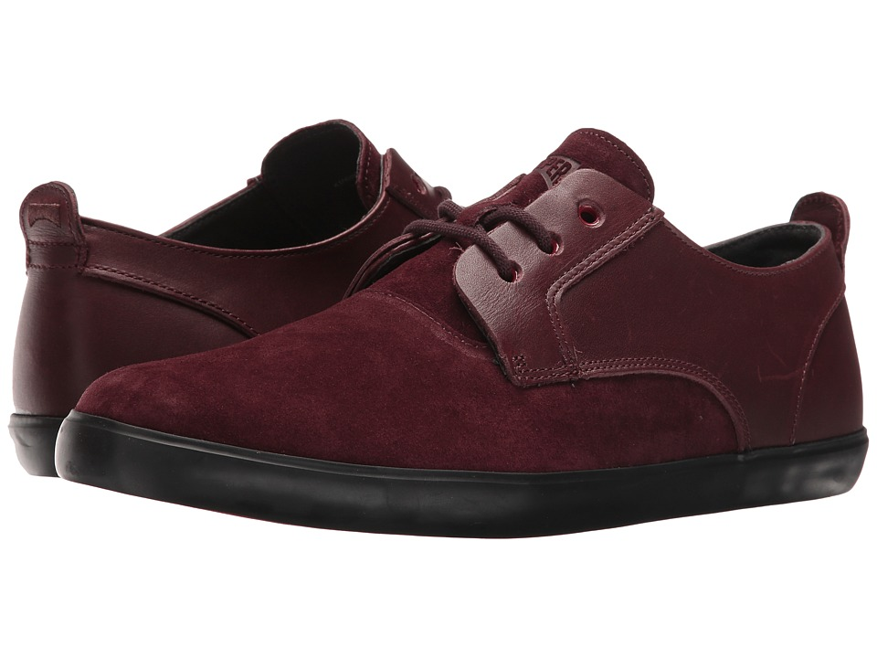 Camper - Jim - K100084 (Dark Red) Men's Lace up casual Shoes