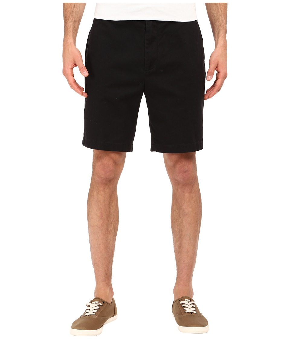 Nautica - Flat Front Deck Short (True Black) Men's Shorts