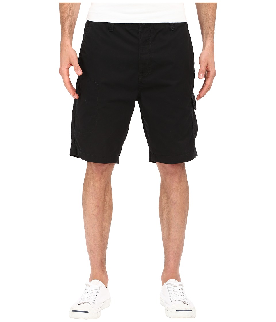 Nautica - Sail Cloth Poplin Cargo Shorts (True Black) Men's Shorts