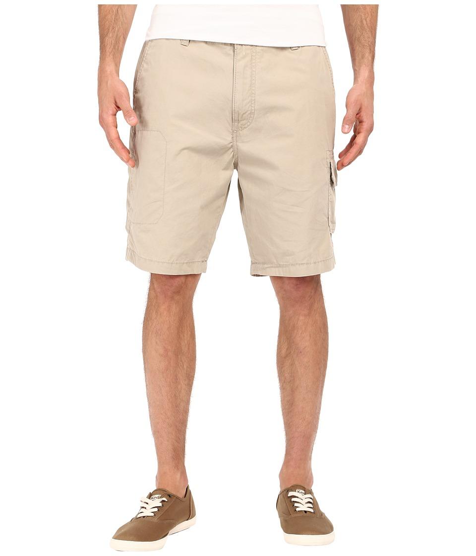 Nautica - Sail Cloth Poplin Cargo Shorts (True Khaki) Men's Shorts