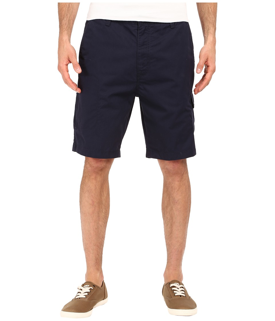 Nautica - Sail Cloth Poplin Cargo Shorts (Navy) Men's Shorts
