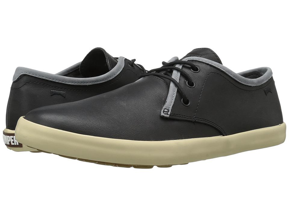 Camper - Pelotas Persil Vulcanizado - K100008 (Black 1) Men's Lace up casual Shoes