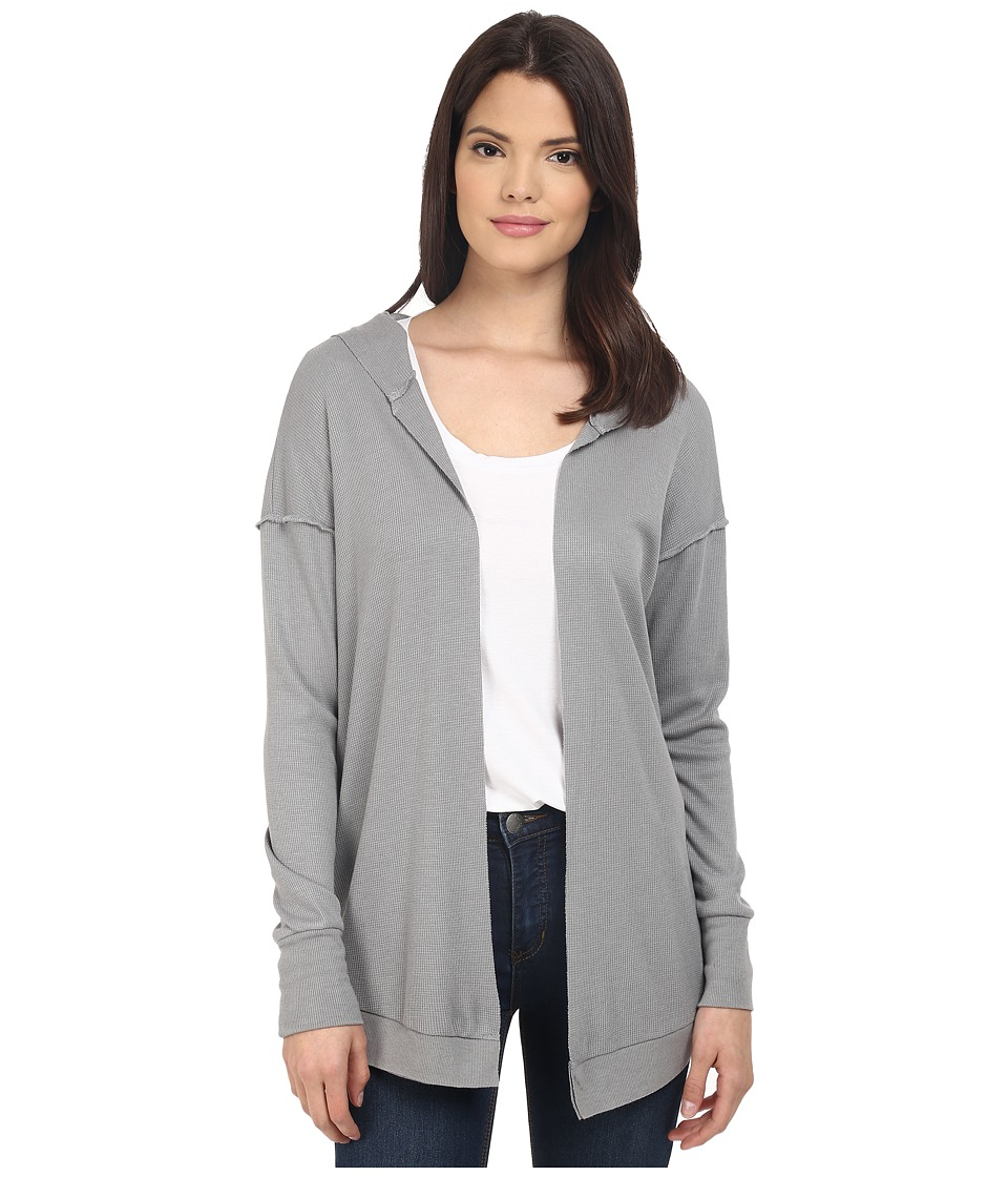 Project Social T - Fireside Cardi (Heather Grey) Women's Sweater