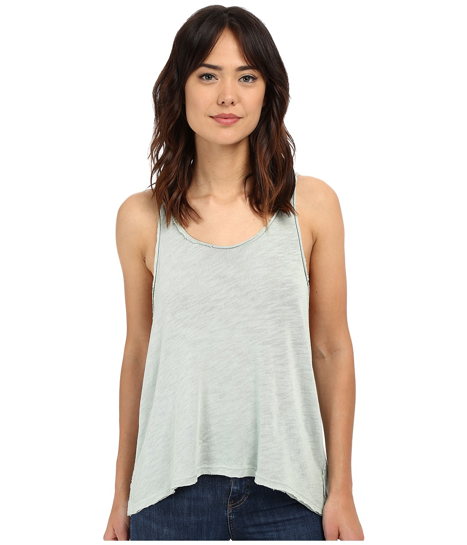 Project Social T - Venice Textured Tank Top (Frost Green) Women's Sleeveless