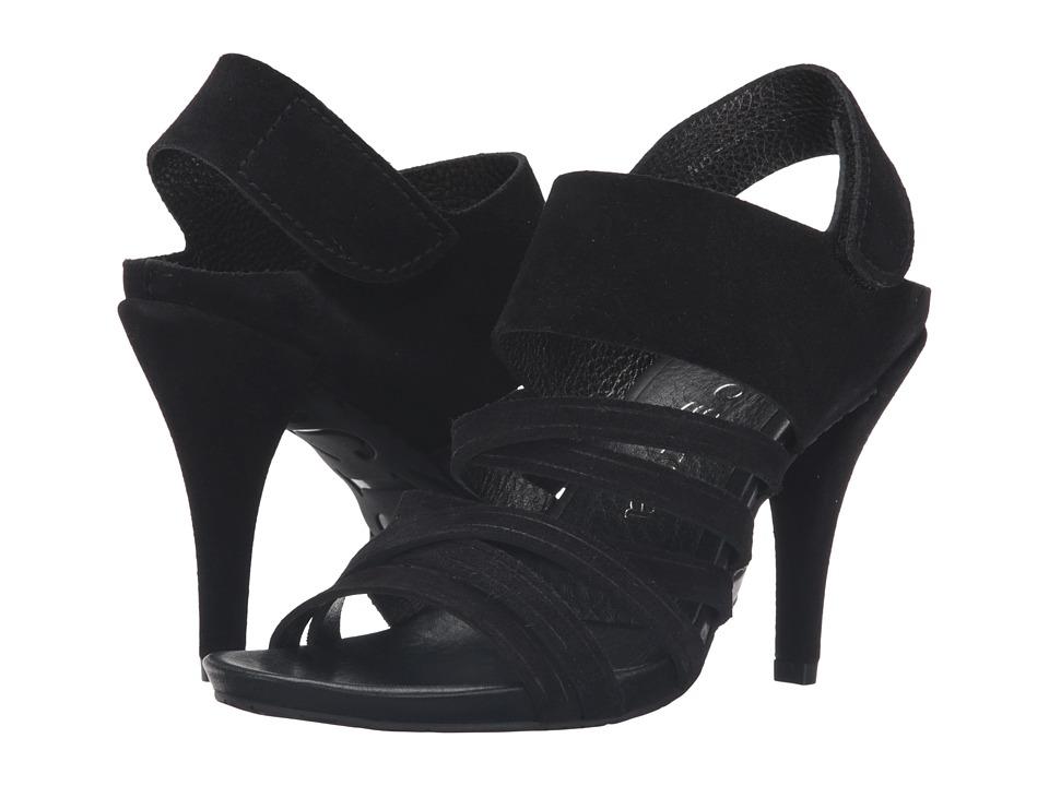 Pedro Garcia - Yuna (Black Castoro Lame) High Heels