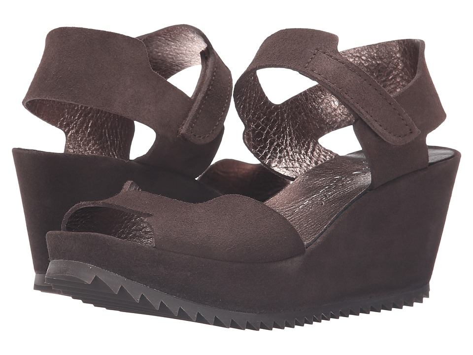 Pedro Garcia - Finy (Silt Castoro Lame) Women's Wedge Shoes