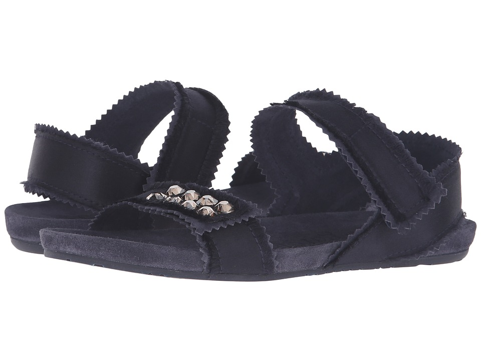 Pedro Garcia - Jenay (Midnight Satin) Women's Sandals