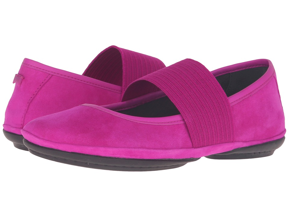 Camper - Right Nina - 21595 (Purple) Women's Slip on Shoes