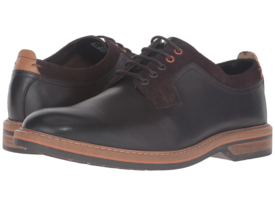 Clarks Pitney Walk (Dark Brown Leather) Men