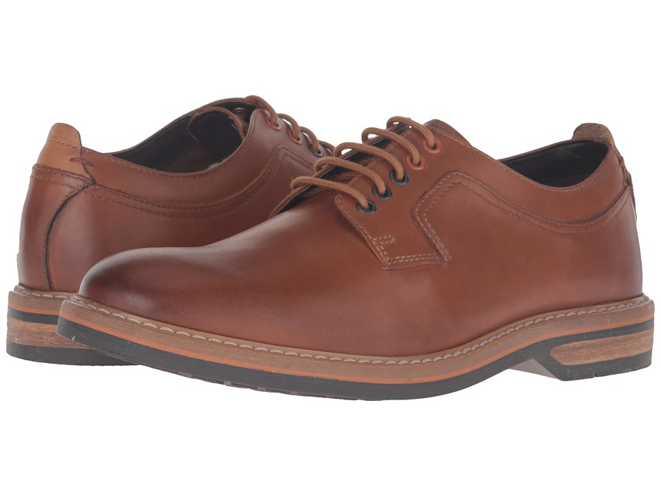 Clarks Pitney Walk (Cognac Leather) Men