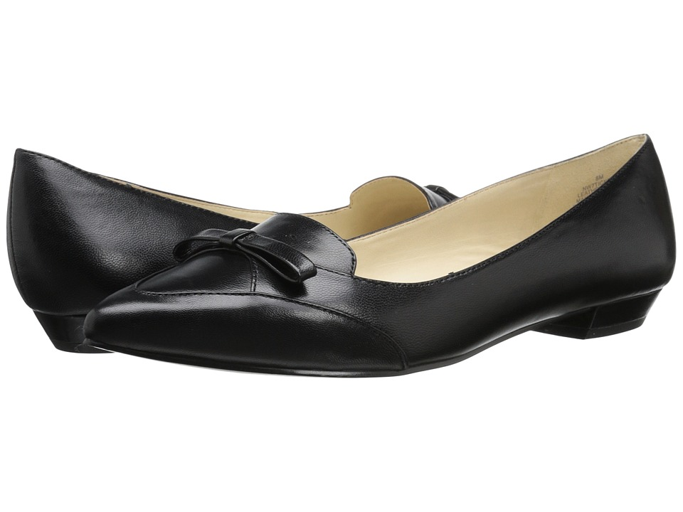 Nine West - Tickell (Black Leather) Women