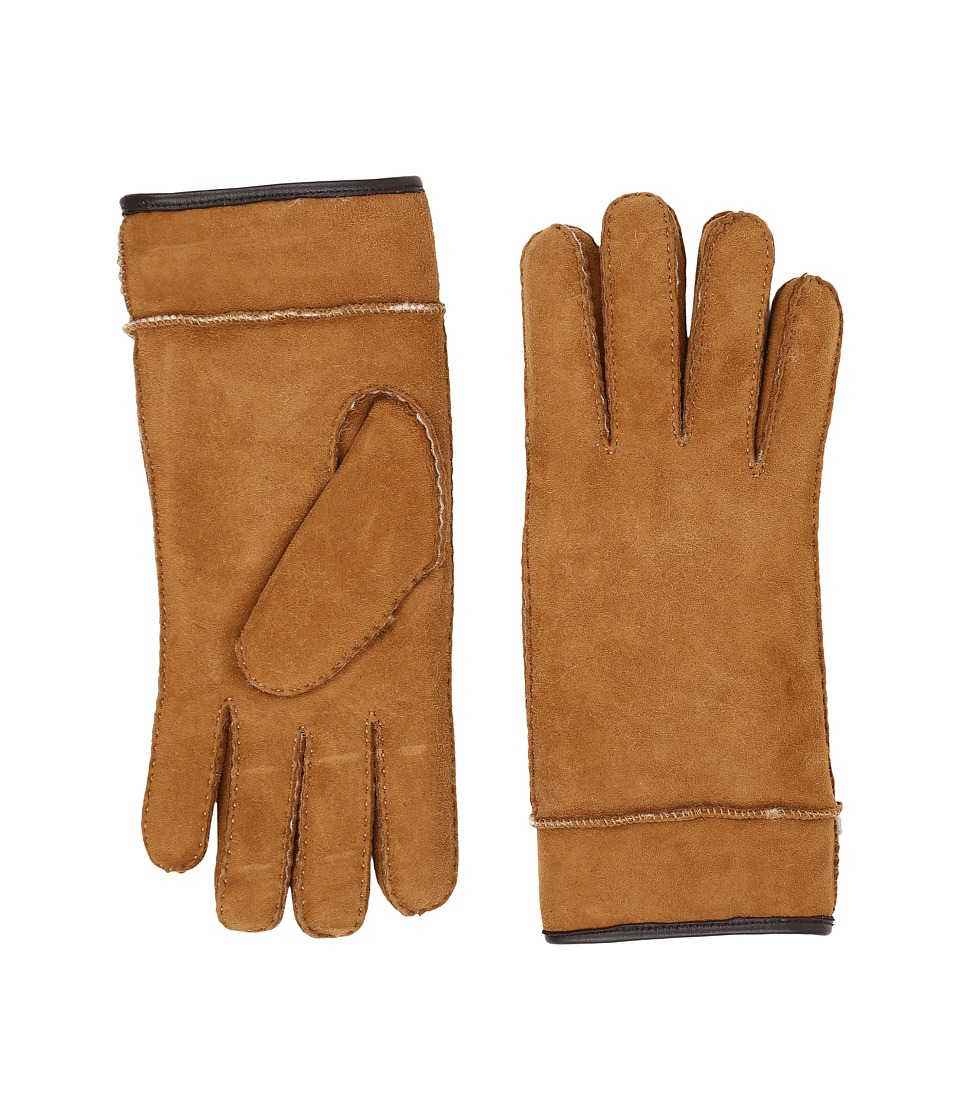 UGG Frosted Turn Cuff Gloves (Chestnut Multi) Extreme Cold Weather Gloves