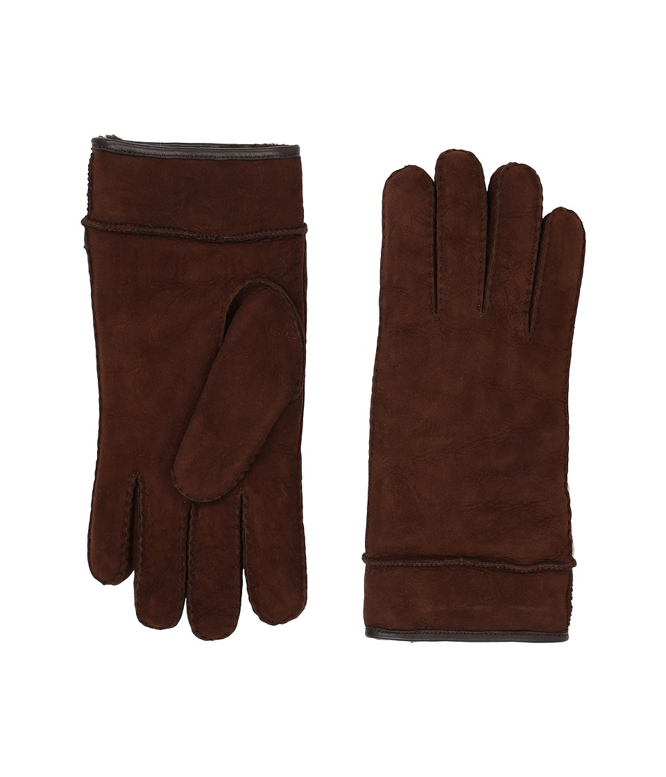 UGG Frosted Turn Cuff Gloves (Chocolate Multi) Extreme Cold Weather Gloves