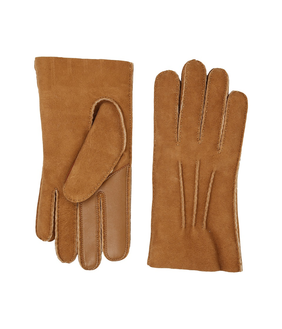 UGG - Sheepskin Smart Gloves (Chestnut) Extreme Cold Weather Gloves