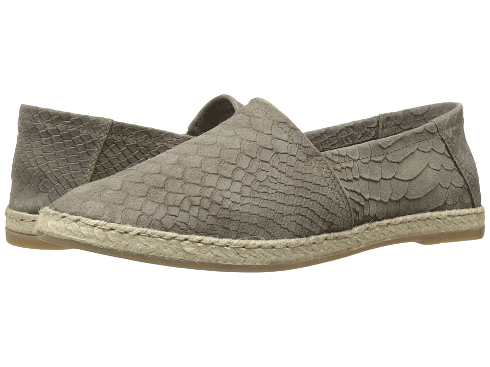 Miz Mooz - Amaze (Charcoal Snake) Women's Slip on Shoes