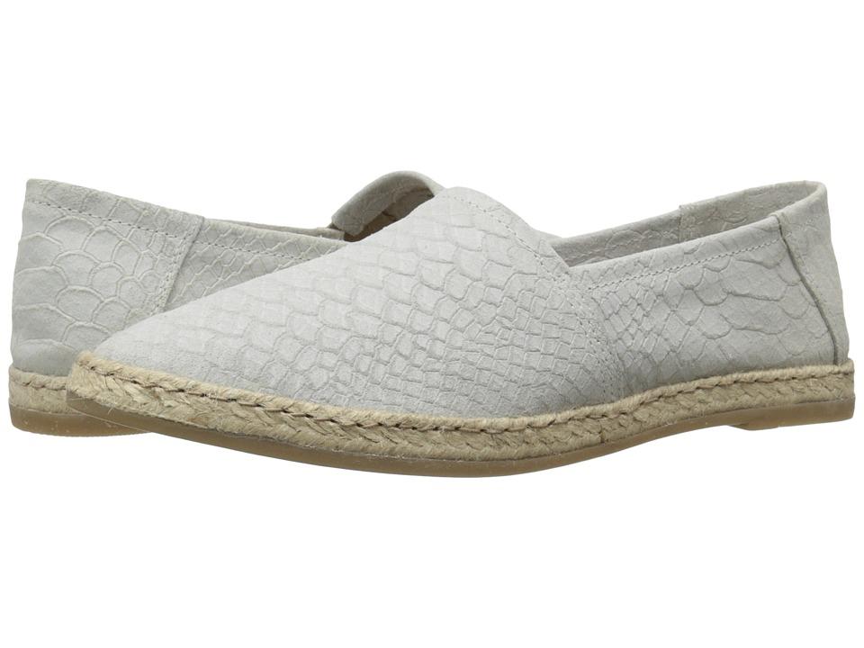 Miz Mooz - Amaze (White Snake) Women's Slip on Shoes