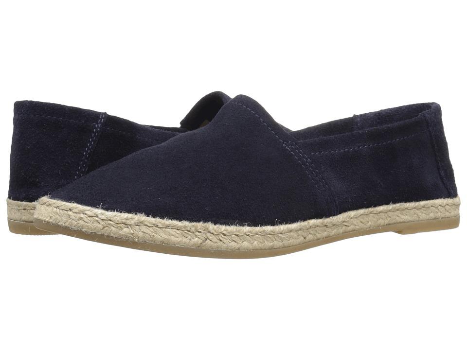 Miz Mooz - Amaze (Blue Suede) Women's Slip on Shoes