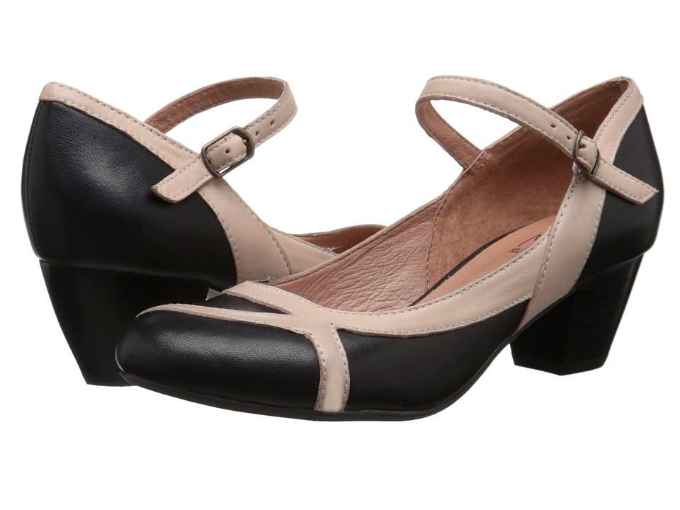 Miz Mooz - Felicie (Black) Women's Dress Flat Shoes