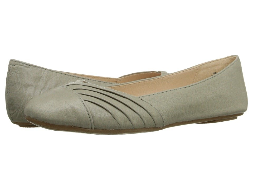 Nine West - Bim (Light Grey Leather) Women's Shoes