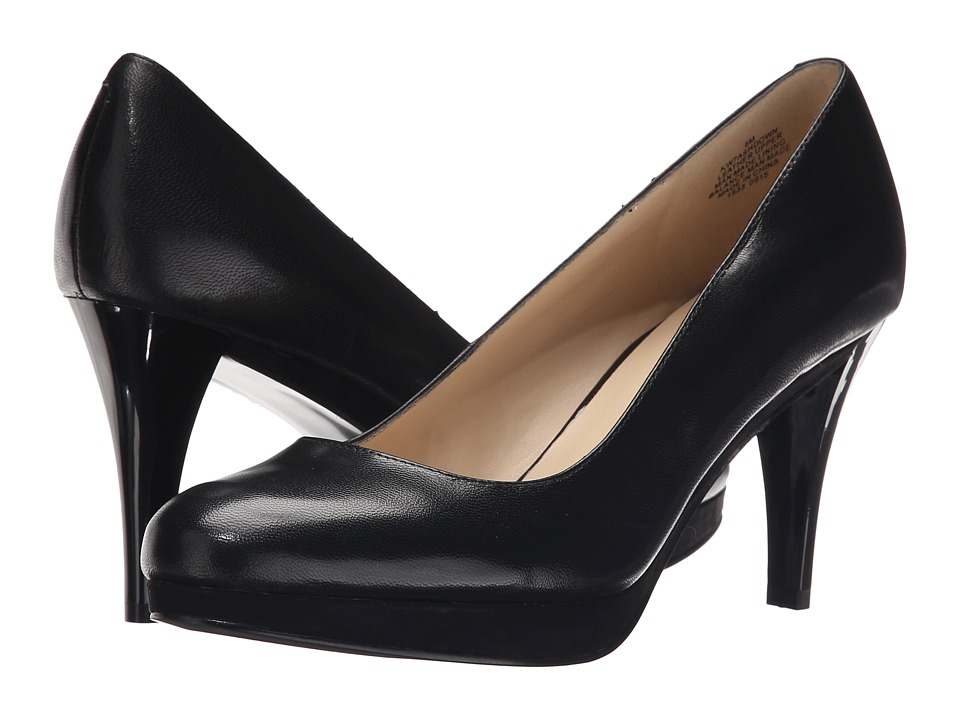 Nine West - Ashdown (Black Leather) Women's Shoes