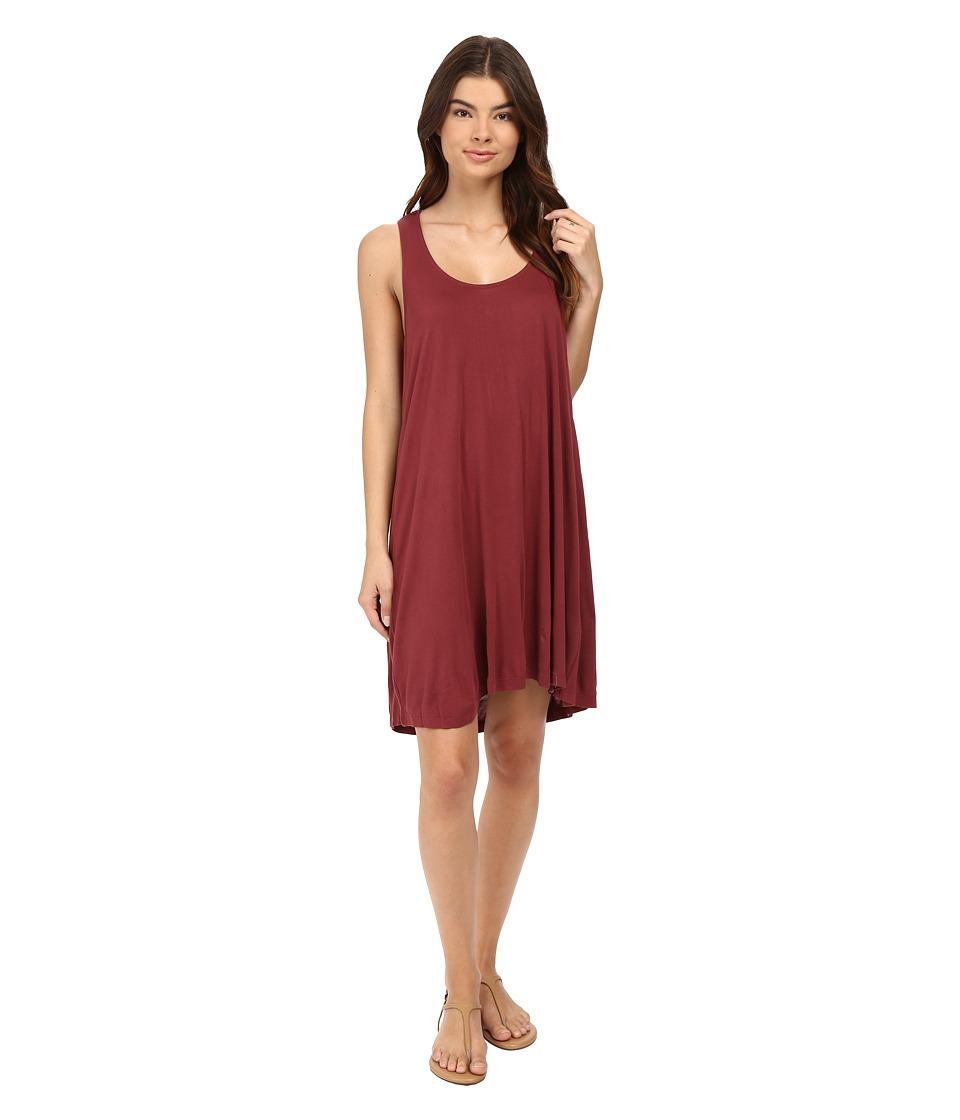 Volcom Constellation Dress (Crimson) Women