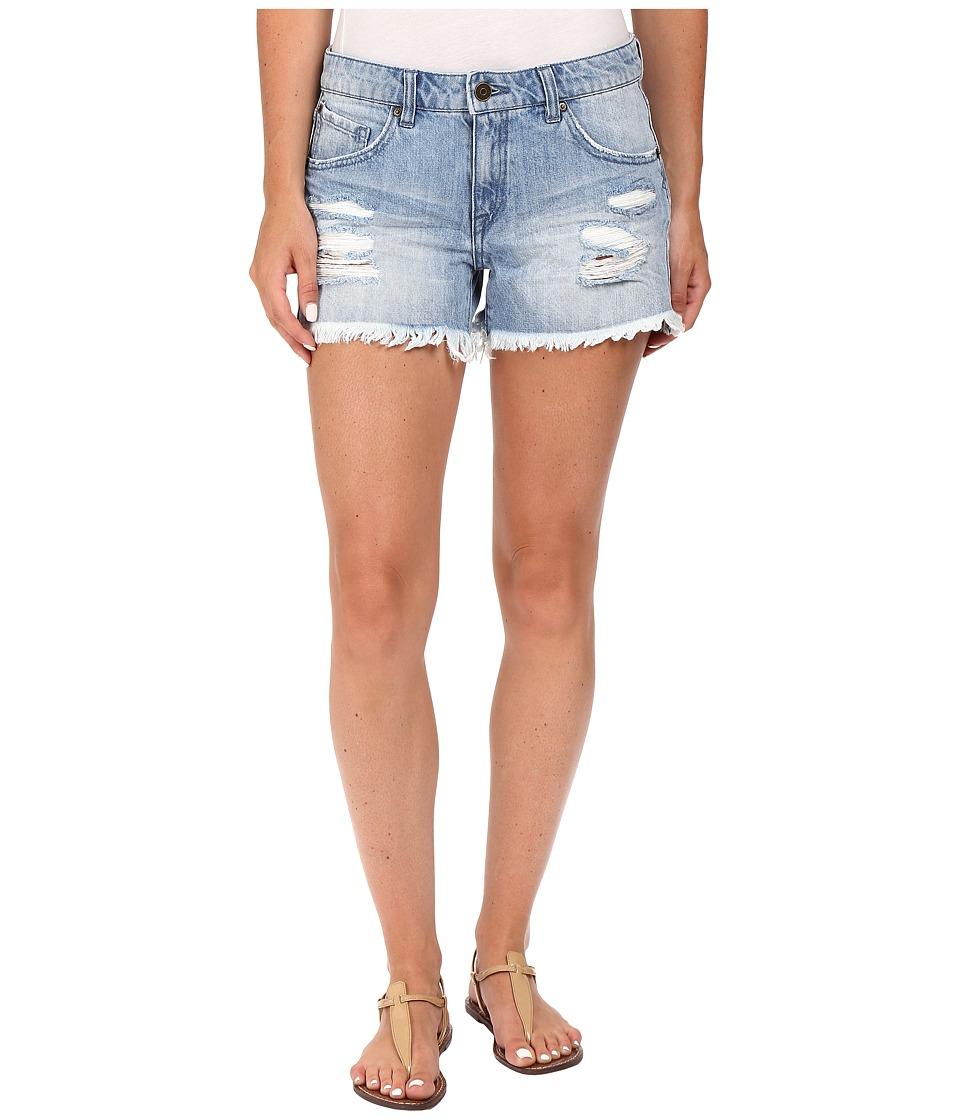 Volcom - Stoned Shorts 3 (Used Blue) Women's Shorts