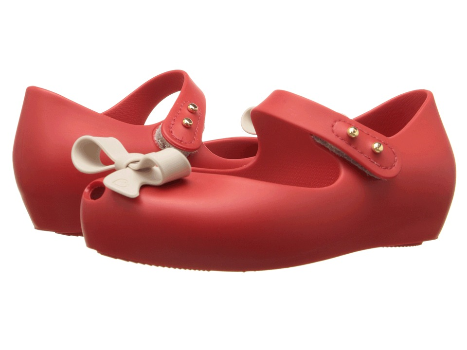 Mini Melissa - Ultragirl Bow II (Toddler) (Red) Girl's Shoes