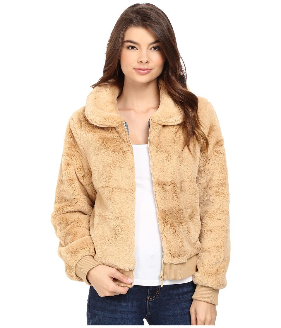 Volcom - Furcasting Jacket (Bear Brown) Women's Coat