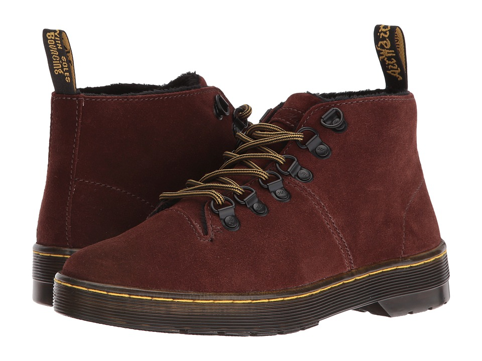 Dr. Martens - Lahava 6-Eye Lined Chukka (Brown E. H. Suede) Women's Lace-up Boots