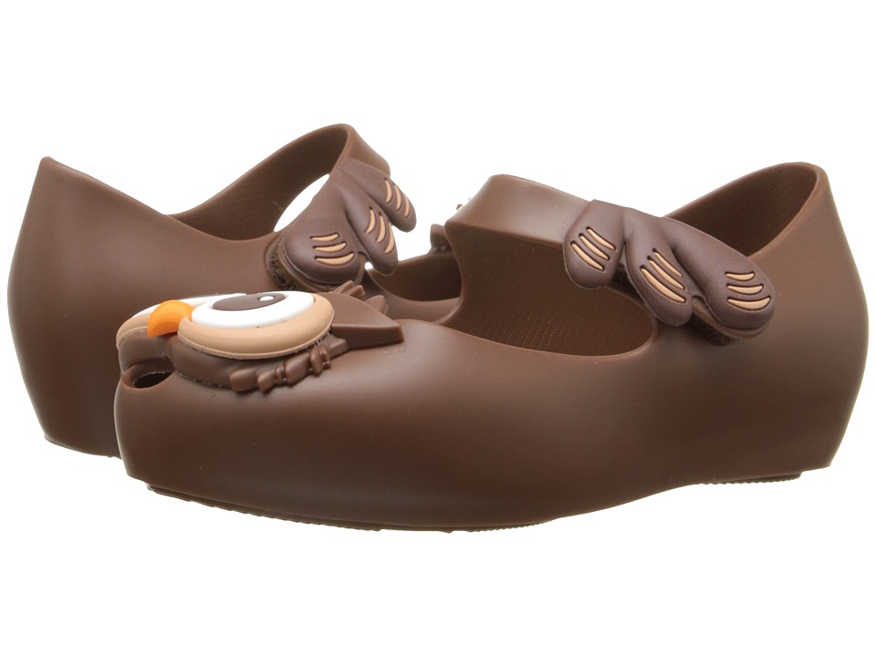 Mini Melissa - Melissa Ultragirl V (Toddler) (Chocolate Brown) Girl's Shoes