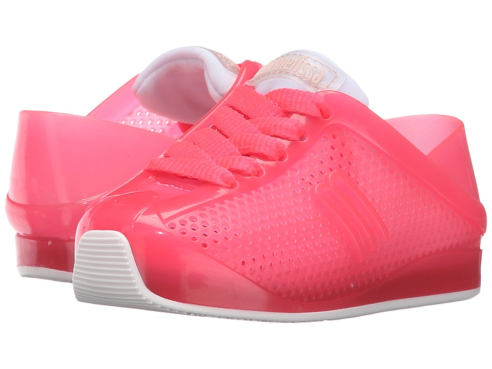 Mini Melissa - Love System (Toddler/Little Kid) (Bright Pink) Girl's Shoes