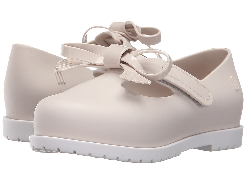 Mini Melissa - Classic Baby (Toddler/Little Kid) (Off-White) Girl's Shoes