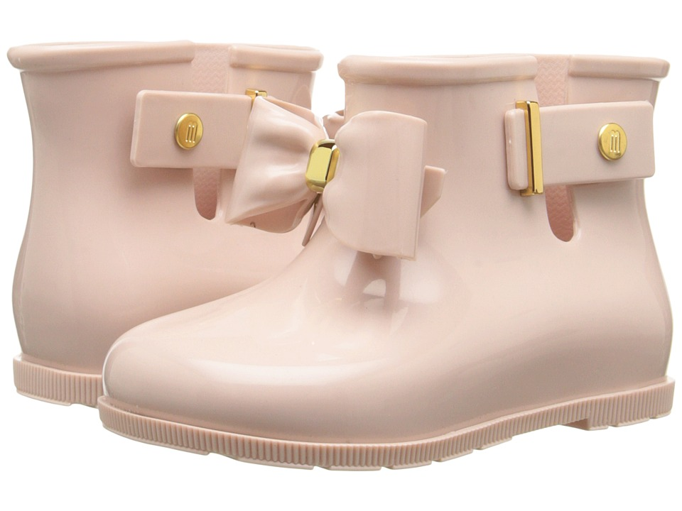 Mini Melissa - Sugar Rain Bow (Toddler) (Sand) Girl's Shoes