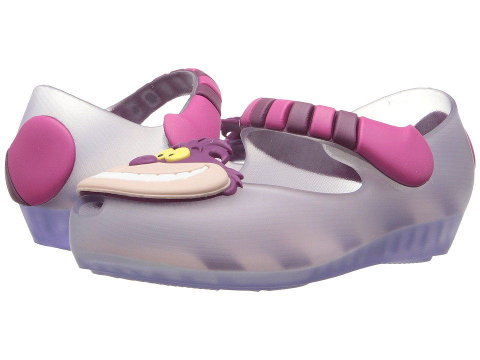 Mini Melissa - Ultragirl + Alice Wonderland (Toddler) (Clear) Girl's Shoes