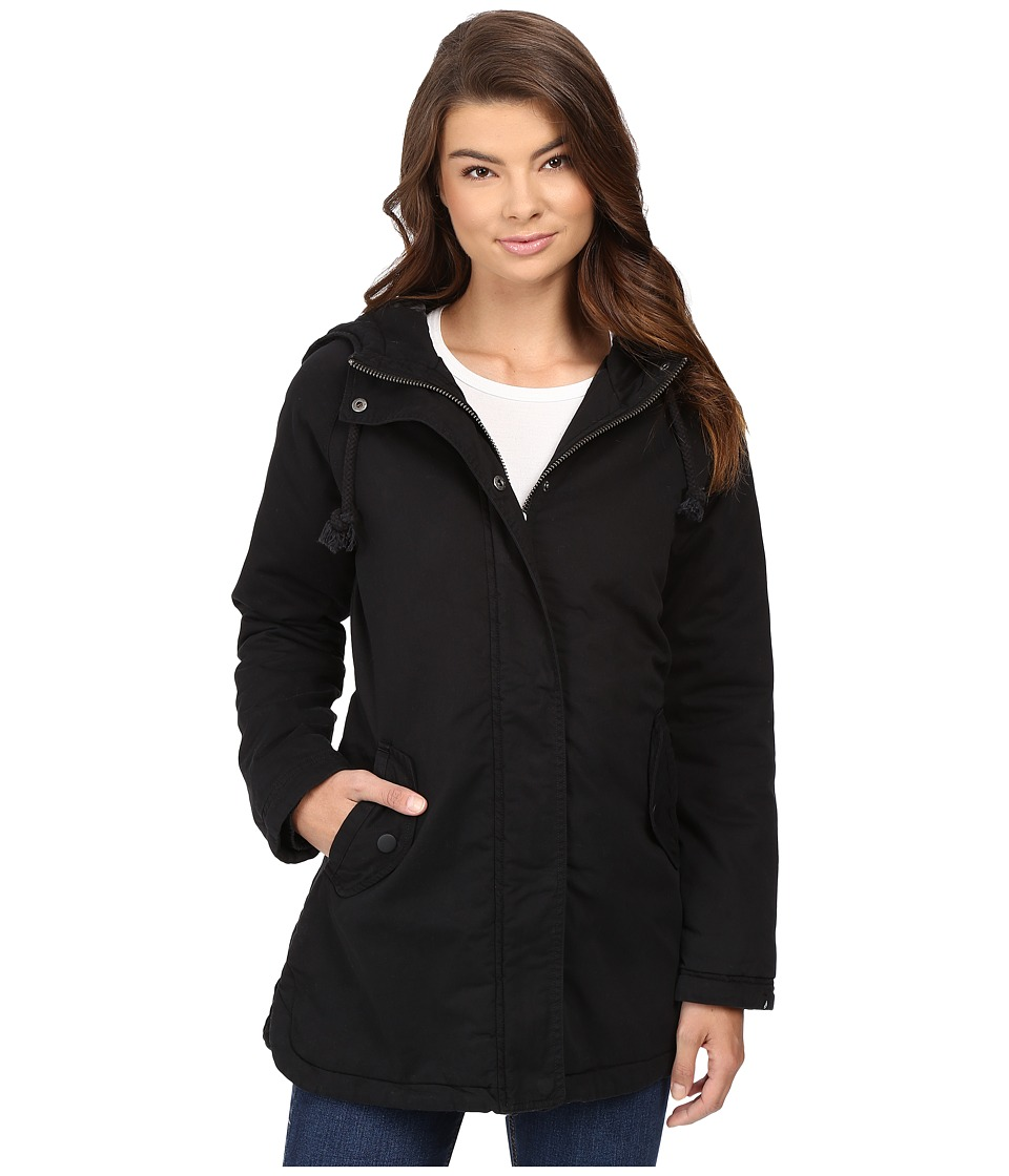 Volcom - Good Side Parka (Black) Women's Coat
