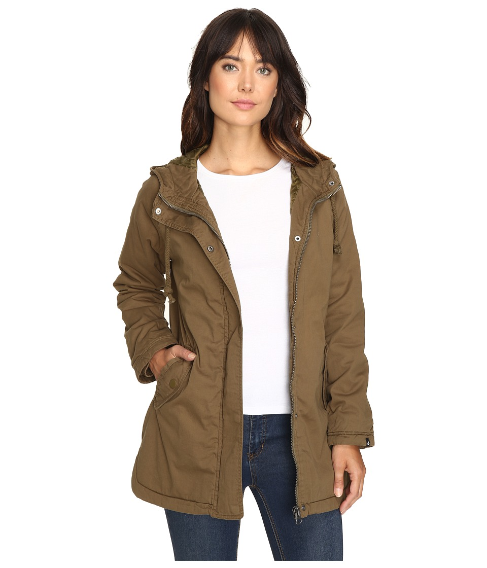 Volcom - Good Side Parka (Lentil Green) Women's Coat