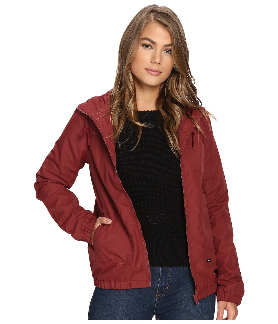 Volcom - Enemy Stone Jacket (Crimson) Women's Coat