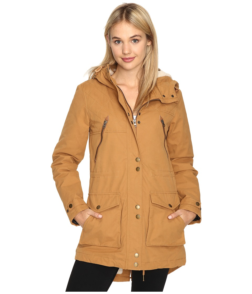 Volcom - Walk On By Parka (Bear Brown) Women's Coat