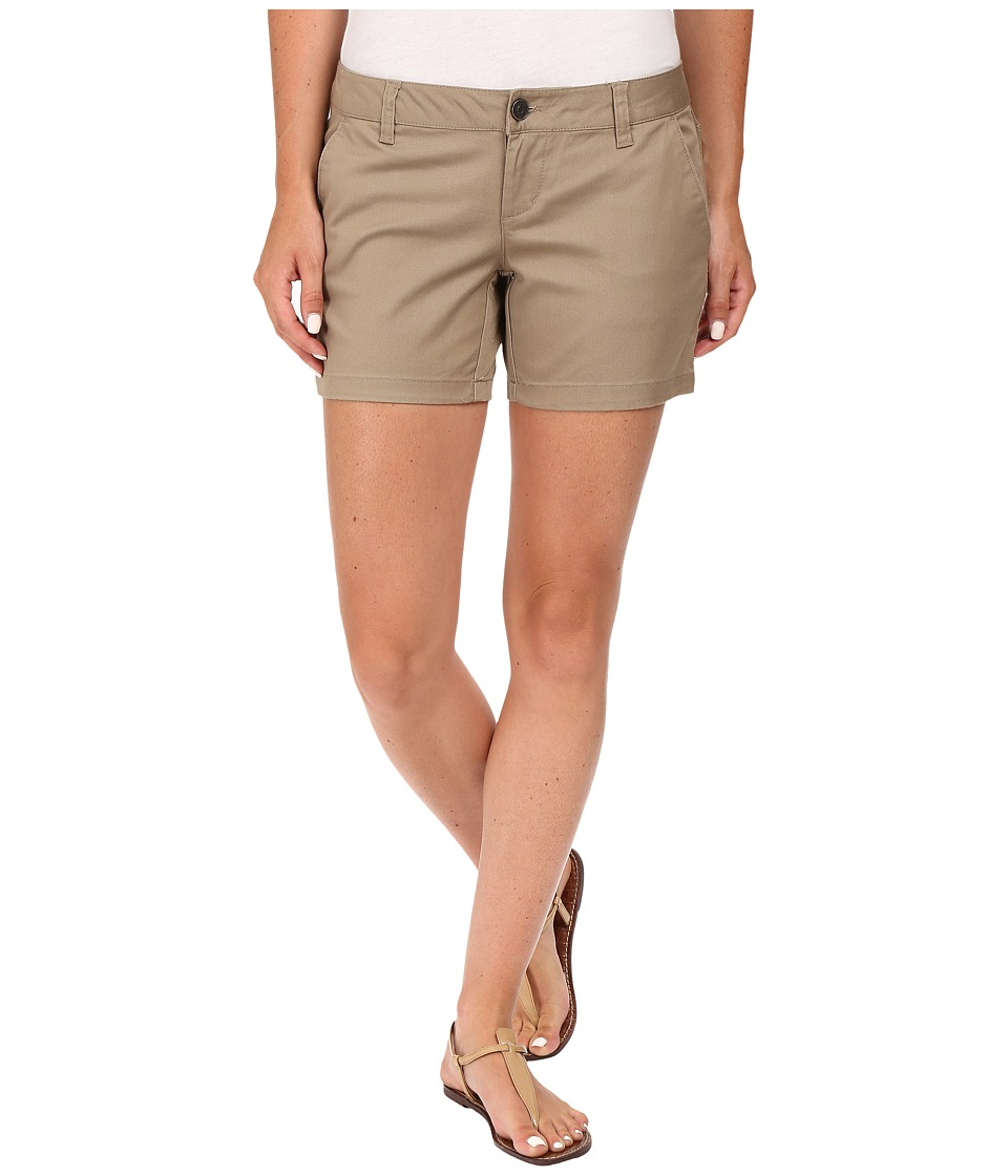 Volcom - Frochickie 5 Shorts (Khaki) Women's Shorts
